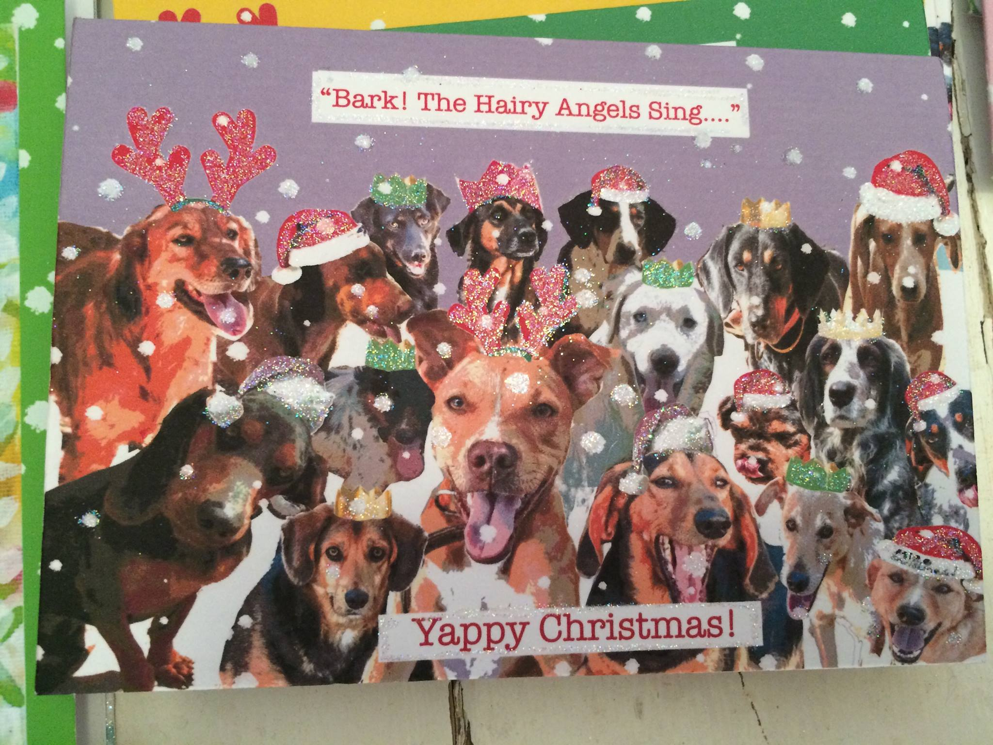 Decorate Your Own Home Dog Rescue Christmas Cards Christmas Lights Card And Decore